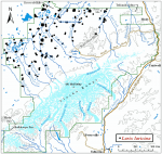 Occurrence map for tamarack