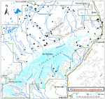 Occurrence map for groundcedar