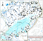 Occurrence map for fireweed