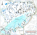 Occurrence map for field horsetail