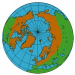circumpolar distribution on the globe