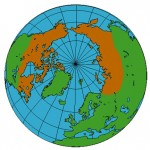 incompletely circumpolar distribution on the globe