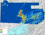 Predictability map for Alaskan mountain-avens