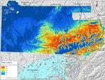 Predictability map for Altai fescue