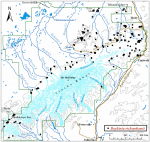 Occurrence map for Richardson's brookfoam