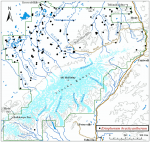 Occurrence map for northland cottonsedge